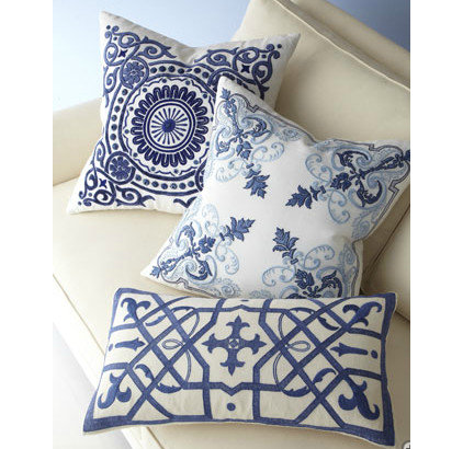 Contemporary Decorative Pillows by Horchow