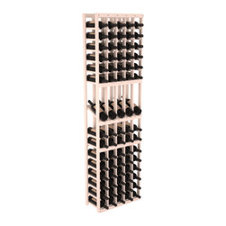 Wine Racks America - 5 Column Display Row Wine Cellar Kit in Pine, White Wash - Make your best vintage the focal point of your wine cellar. Four of your best bottles are presented at 30° angles on a high-reveal display. Our wine cellar kits are constructed to industry-leading standards. Youll be satisfied with the quality. We guarantee it.