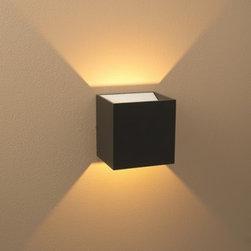 Bruck Lighting   QB LED Wall Sconce -