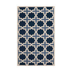 Safavieh - Aklim Hand Tufted Rug, Light Blue / Ivory 10' X 14' - Construction Method: Hand Tufted. Country of Origin: India. Care Instructions: Vacuum Regularly To Prevent Dust And Crumbs From Settling Into The Roots Of The Fibers. Avoid Direct And Continuous Exposure To Sunlight. Use Rug Protectors Under The Legs Of Heavy Furniture To Avoid Flattening Piles. Do Not Pull Loose Ends; Clip Them With Scissors To Remove. Turn Carpet Occasionally To Equalize Wear. Remove Spills Immediately. Bring classic style to your bedroom, living room, or home office with a richly-dimensional Safavieh Cambridge Rug. Artfully hand-tufted, these plush wool area rugs are crafted with plush and loop textures to highlight timeless motifs updated for today's homes in fashion colors.