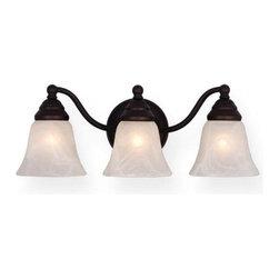 Vaxcel Lighting - Vaxcel Lighting VL35123 Standford 3 Light Vanity Light - Features: