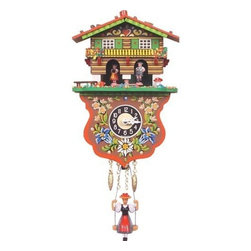 Boy and Girl Weather House Cuckoo Clock - Nothing beats the classic cuckoo clock. Just make sure it's not set to go off every hour — or you'll have a naptime nightmare!