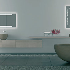 Contemporary Bathroom Mirrors by Glass House AU