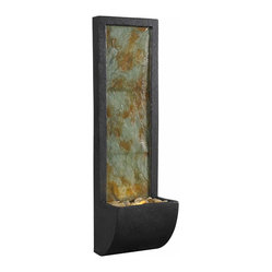 Kenroy - Kenroy 50200Sl Walla Indoor Wall Fountain - Kenroy 50200SL Walla Indoor Wall Fountain