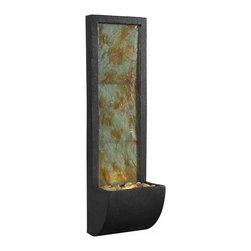 Kenroy - Kenroy 50200SL Walla Indoor Wall Fountain - Kenroy 50200SL Walla Indoor Wall Fountain