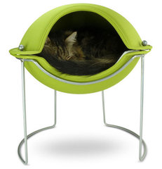 Hepper Pod Bed Green (cat, dog, pet, sleep) | Beds | Hepper
