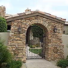 Landscape by Colletti Design Iron Doors
