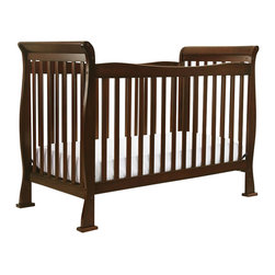 Da Vinci - Da Vinci Reagan 4-in-1 Convertible Crib with Toddler Rail in Coffee - Da Vinci - Cribs - M2801F - The Reagan Crib is a practical piece of DaVinci engineering. Engineered for safety and style the Reagan Convertible Crib gives you years of comfort. In a few simple conversions your crib becomes a toddler bed or a daybed. With wooden bed rails it becomes a full-sized bed! It's practical. It's approachable. It's Reagan.