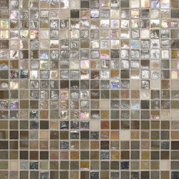 City Lights Barcelona mosaic - Found in Daltile's City Lights collection of Glass, Metal and Decorative Accents. Vibrancy, radiance, and pure shimmer, that's the new City Lights Collection. Add eye-catching attention to your space and leave the room in a trance with the glow of these glass mosaics. Sixteen new stunning blends inspired by the world's most exiting cities will bring sophisticated excitement to your design. This beautiful collection offers ultimate versatility being used commercially or residentially to create borders, backsplashes, or entire walls. let your personality shine through the City Lights Collection.