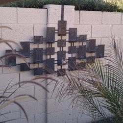 Diamond Candle Wall Art -