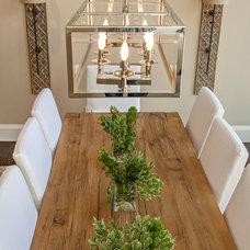 Transitional Dining Room by Studio 212 Interiors
