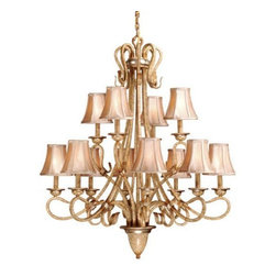 Vaxcel - Berkeley 12L Chandelier - Vaxcel products are highly detailed and meticulously finished by some of the best craftsmen in the business.