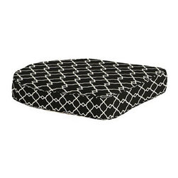 Ballard Designs - Outdoor Chair Cushion with Box Edge Welts - H - Legendary Sunbrella® durable 100% polyester or 100% acrylic covers. High-density, outdoor-safe poly-fill. 3 versatile constructions: Knife-edge (our most affordable), Box-edge (perfect for covered spaces) or revolutionary Fast-Dry® (mesh-backed for quick drying). Resistance to fading, staining & mildew. Jacquard woven patterns for beautiful wear. With our huge selection of Outdoor Replacement Cushions, you can give your furniture - and your look - an instant makeover. Crafted using the finest techniques and materials, these rugged, all-weather cushions will keep looking great, rain or shine, year after year. All of our Cushions feature: Legendary Sunbrella durable 100% polyester or 100% acrylic covers. . 3 versatile constructions: Knife-edge (our most affordable), Box-edge (perfect for covered spaces) or revolutionary Fast-Dry (mesh-backed for quick drying) . .  . Hundreds of coordinating fabrics, rugs & umbrellas . Washable, easy care.
