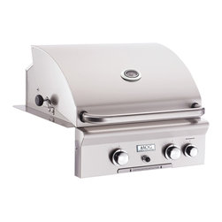 American Outdoor Grill - Built-In LP Grill with 432 sq. in. Cooking Area and Backburner - All heavy duty 304 series stainless steel construction