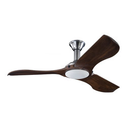 """Monte Carlo Fan - Monte Carlo Fan Minimalist 56"""" Modern / Contemporary Ceiling Fan X-DSB65RLNM3 - This advanced LED technology is carefully designed and selected to consist of the highest quality LED chipsets for superior performance and reliability."""