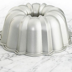 NordicWare - Nordic Ware 60th Anniversary Limited Edition Bundt Pan - Commemorate the 60th anniversary of Nordic Ware's creation of the Bundt pan with this Limited Edition Bundt Pan that has a classic size and shape.This Bundt Pan is made with heavy-cast,rust-proof aluminum to ensure even heat distribution.