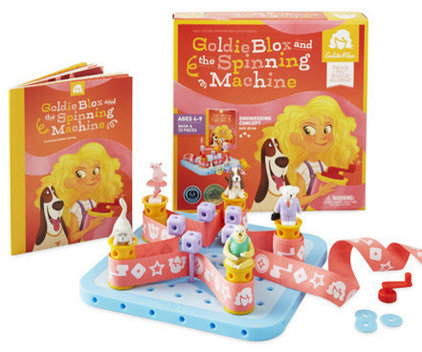 Contemporary Kids Toys And Games by GoldieBlox