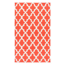 Artistic Weavers - Artistic Weavers York Olivia (Coral) 5' x 8' Rug - This Hand Woven rug would make a great addition to any room in the house. The plush feel and durability of this rug will make it a must for your home. Free Shipping - Quick Delivery - Satisfaction Guaranteed