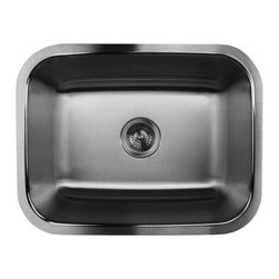 """Nantucket Sinks - Nantucket Sink ns2318-16 - 23"""" small Rectangle Single Bowl Undermount Stainless - This undermount is the popular small rectangle kitchen sink. Perfect single bowl for the smaller kitchen applications."""