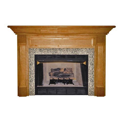 Agee Woodworks - Agee Woodworks Harcourt Wood Fireplace Mantel Surround - HARRISON4840BIRCH - Shop for Mantels and Trim from Hayneedle.com! About This Fireplace MantelYou're certain to enjoy the aesthetic addition that this impressive Agee Woodworks Harcourt Wood Fireplace Mantel Surround provides. A large molded cornice and raised paneling make it a sure favorite among your family. It also features slightly fluted columns and block-bases. Assembly is a snap since most of it is complete out of the box. The final choices are left up to you this mantel ships unfinished ready to paint or stain and install. Choose between birch or oak solids in a wide selection of custom-cut sizes.About Agee Woodworks Inc.Ashland Va.'s Agee Woodworks Inc. focuses on three key manufacturing aspects: service quality and customization. Each handcrafted Agee fireplace mantel is made to order by one specific craftsman - and with a variety of value and custom options there's one for every budget. The highest-quality materials used - and individualized construction process during which a mantel's legs header and shelf are applied to a specified-size frame - ensure long-lasting one-of-a-kind products. Mantels can be primed painted or stained before delivery or can be shipped unfinished so customers can finish them at home.