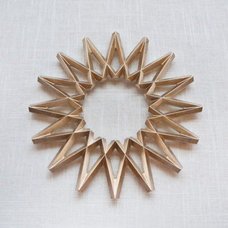 Contemporary Trivets by Muhs Home