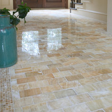 Contemporary Floors by AG&M (Architectural Granite & Marble)