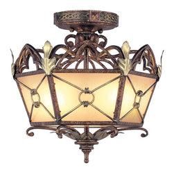 Livex Lighting - Livex Lighting Flush Mounts Bristol Manor - Livex Lighting 8823-64 Flush Mounts Bristol manor.