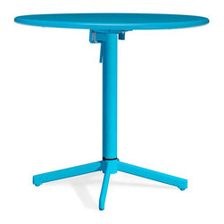 Great Contemporary Outdoor Furniture - Looking to add a bright splash of color to your outdoor space? Choose this colorful Big Wave round table.
