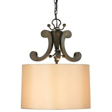 pendant lighting Oberon Pendant by Currey and Company