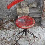 European vintage industrial furniture - Real industrial chairs