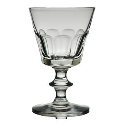 Lavish Shoestring - Consigned Port or Sherry Wine Small Glass, English Victorian, 19th Century - This is a vintage one-of-a-kind item.