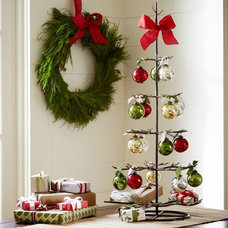 Contemporary Christmas Decorations by Pottery Barn