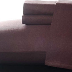 Eddie Bauer Bordeaux Ridge Flannel Sheet Set - This Eddie Bauer Bordeaux Ridge Flannel Sheet Set is bound to make your bed the coziest. These ultra-soft brushed and preshrunk sheets in deep wine red are just the thing to welcome you after a long day at work or play. Set comes complete with flat sheet, fitted sheet, and two pillowcases.About Eddie BauerSince Eddie Bauer himself strung the first racket in Eddie Bauer's Tennis Shop in 1920, the company's work ethic has always been based on innovative design and exceptional customer service. Now a household name, Eddie Bauer is more than sports goods - it's premium-quality gear, accessories, and clothing designed to complement the lives of those who love outdoor pursuits. Eddie Bauer's home collection proves the company's rugged, athletic spirit can be just as rewarding indoors, too.