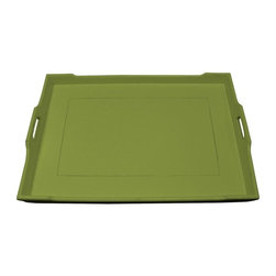 Trade Winds - New Trade Winds Serving Tray Green Painted - Product Details