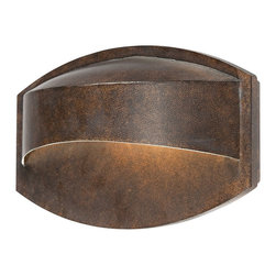"""Possini Euro Design - Possini Euro Xane Bronze Dark Sky 11"""" Wide Wall Sconce - Modern lines are combined with gorgeous materials in this horizontal outdoor light. The sleek design will add contemporary class and appeal to your home. This outdoor wall light features a bronze finish and is Dark Sky regulations compliant. It may also be used indoors as a wall sconce. From the Possini Euro Design lighting collection. Bronze finish. Includes one 40 watt G9 halogen bulb. 7"""" high. 11"""" wide. Extends 3"""" from wall.  Bronze finish.   Dark Sky compliant.   May be used indoors or as an outdoor wall sconce.   From the Possini Euro Design collection.  Includes one 40 watt G9 Halogen bulb.   7"""" high.   11"""" wide.   Extends 3"""" from the wall."""