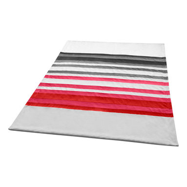 """Blancho Bedding - [Stripes - Fantastic Dreams]Soft Coral Fleece Patchwork Throw Blanket 59""""-78.7"""" - This Coral Fleece Patchwork Throw Blanket measures 59 by 78.7 inches. Comfort, warmth and stylish designs. Whether you are adding the final touch to your bedroom or rec-room these patterns will add a little whimsy to your decor. This Coral Fleece Patchwork throw blanket will make a fun additional to any room and are beautiful draped over a sofa, chair, bottom of your bed and handy to grab and snuggle up in when there is a chill in the air. They are the perfect gift for any occasion! Keep one in your car for staying warm at  outdoor sporting events. Place one on your couch or favorite upholstered chair. Have extras on hand for sleepovers and overnight guests. Machine wash and tumble dry for easy care. Will look and feel as good as new  after multiple washings!"""