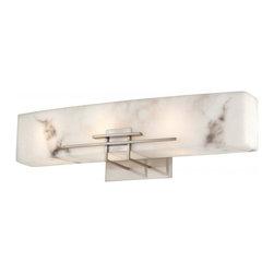 Minka-Lavery - Minka-Lavery Energy Efficient Bath 3-Light Bath - 6163-84-PL - This 3-Light Vanity has a Nickel Finish.