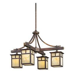 Kichler Lighting - Kichler Lighting 49091CV Alameda 4 Light Outdoor Pendants/Chandeliers in Canyon - Outdoor Chandelier 4Lt