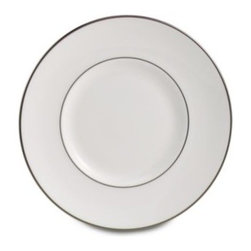 Lenox - Lenox Continental Dining Platinum 7 1/4-Inch Dessert Plate - Crafted of Lenox bone china and rimmed with platinum, this dinnerware is as beautiful as it is functional. The Continental Dining pattern is extremely unique because it's platinum banded and microwave safe.