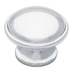 Liberty Hardware - Liberty Hardware PN0836-PC-C Cup Pulls II Cab HW-Liberty 1.42 Inch Round Knob - - The Liberty 1-3/8 in. Polished Chrome Round Knob features easy installation with the included hardware for your convenience and the striking polished chrome finish can help add a fresh look to your existing cabinetry. The metal construcation makes this knob very durable and reliable.. Width - 1.42 Inch,Height - 1.42 Inch,Projection - 1.09 Inch,Finish - Polished Chrome,Weight - 0.11 Lbs