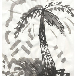 """Ink Palm Tree""  (Original) by Talia - Palm Tree rendered in india ink on acid free paper. Measures 9 x 12""."