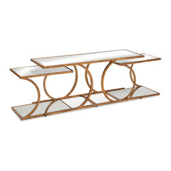 Bassett Mirror - Bassett Mirror Clement Nesting Cocktail Table - Clement Nesting Cocktail Table