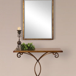 "26115 Mindy, Console Table by uttermost - Get 10% discount on your first order. Coupon code: ""houzz"". Order today."