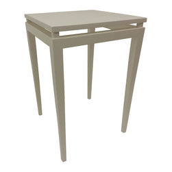 Cherry Pond Fine Furniture - Casco Bay End Table - Straight from our Bay Shore Collection!  This versatile white end table is perfect for the cottage at the beach, your cozy apartment or anywhere you need that perfect table.  Solid wood painted white, it's not your average white table.