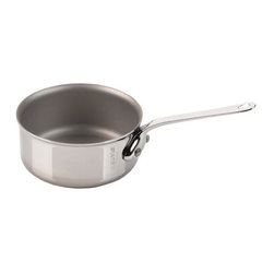 Mauviel - Mauviel M'Cook Mini Saute Pan, Cast Stainless Steel Handle, 0.4qt. - 5 ply Construction - High performance cookware, works on all cooking surfaces, including induction.