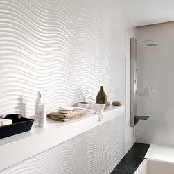 Porcelanosa - Bring to life your very own zen garden with the tranquil flow of the sea in Porcelanosa's Qatar.