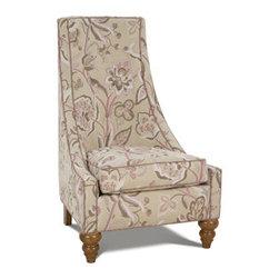 Garcia Chair - This chair has fun, whimsical proportions.