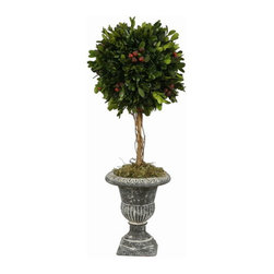 Holiday Ball Topiary (Faux Boxwood) - Winward Designs