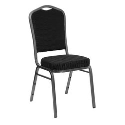 Flash Furniture - Flash Furniture Hercules Series Banquet Chair in Silver Vein Metal - Flash Furniture - Stacking Chairs - FDC01SILVERVEINS076GG - This is one tough chair that will withstand the rigors of time. with a frame that will hold in excess of 500 lbs., the Hercules Series Banquet Chair is one of the strongest banquet chairs on the market. You can make use of banquet chairs for many kinds of occasions. This banquet chair can be used in Church, Banquet Halls, Wedding Ceremonies, Training Rooms, Conference Meetings, Hotels, Conventions, Schools and any other gathering for practical seating arrangements. The banquet chair is also great for home usage from small to large gatherings. For any environment that you use a banquet chair it will put your guests at a greater comfort level with the padded seat and back. Another advantage is the stacking capability that allows you to move the chairs out of the way when not in use. with offerings of comfort and durability, you can be assured that you can enjoy this elegant stacking banquet chair for years to come. [FD-C01-SILVERVEIN-S076-GG]