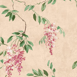 York Wallcoverings - GN2451 Wallpaper, Sample - Prepasted: Paste has already been applied to the back of the wallpaper and is activated with water.